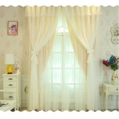 Window Shades Mix and  Match Pink Princess  Curtains  and Drapes With Sheers